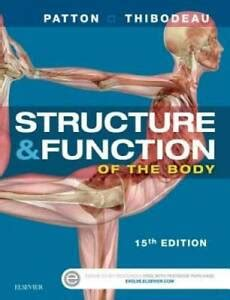 Structure And Function Of The Body Softcover 15e