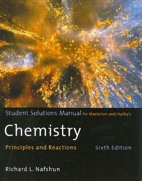 Student Solution Manual Chemistry Principles And Reactions