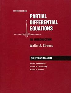 Student Solution Manual Partial Differential Walter