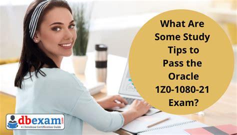 Study 1Z0-1038-21 Plan