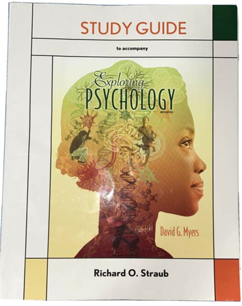 Study Guide Exploring Psychology 9th Edition