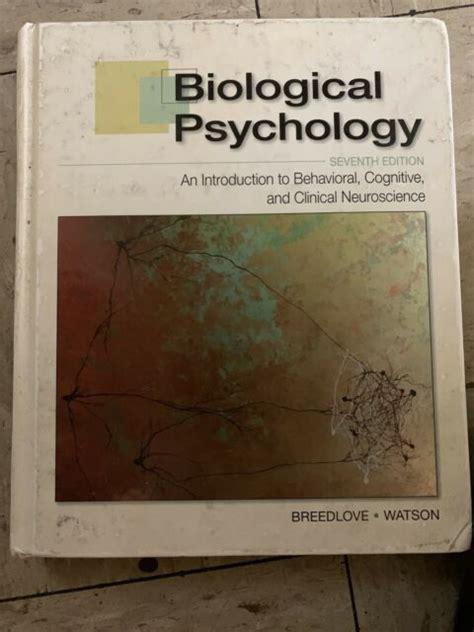 Study Guide For Biological Psychology Breedlove