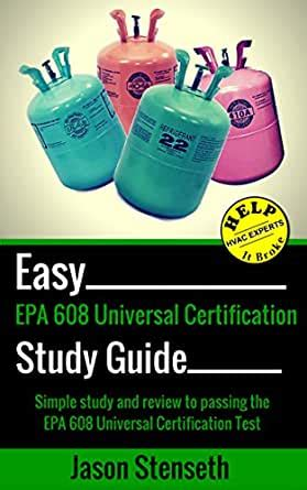 Study Guide For Epa Universal Certification