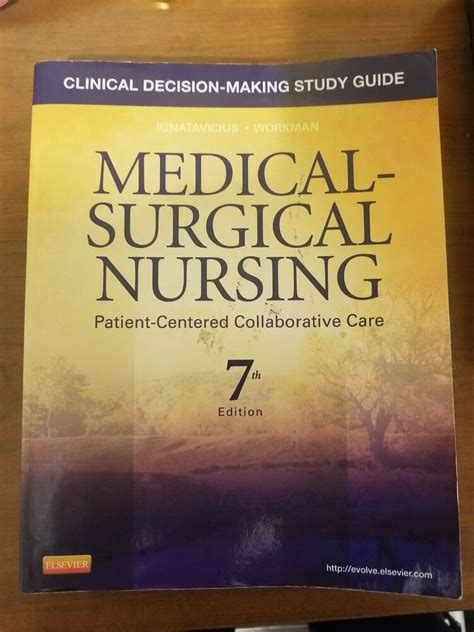 Study Guide For Medical Surgical Nursing 6th Sixth Edition Byfaan