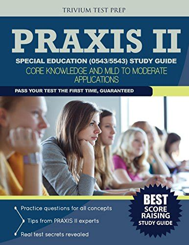 Study Guide For Praxis Special Education 5543