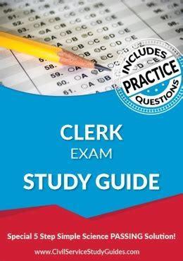 Study Guide For Stock Clerk Exam