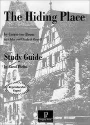 Study Guide For The Hiding Place