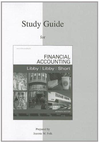 Study Guide To Financial Accounting 7th Edition
