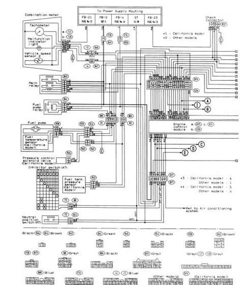 Subaru Impreza 07 Wiring Diagram
