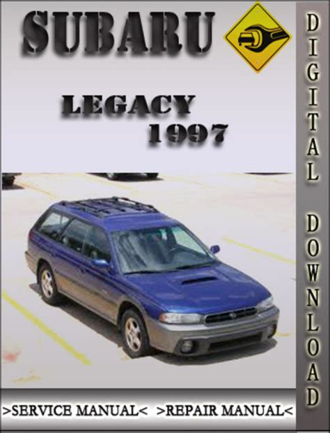 Subaru Legacy 1997 Service Repair Manual
