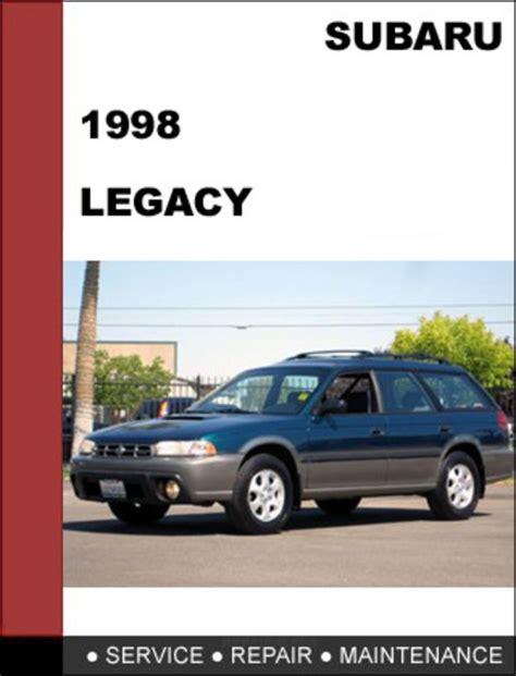 Subaru Legacy 1998 Service Repair Manual