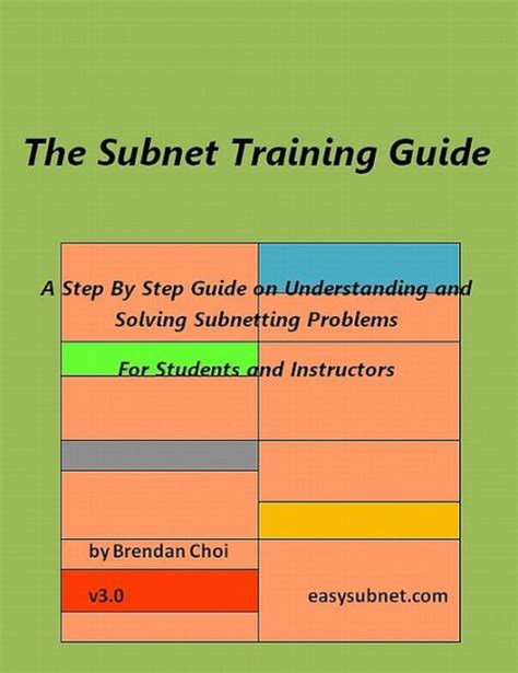 Subnet Training Guide For Students And Instructors