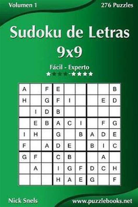 Sudoku De Letras 9x9 De Facil A Experto Volumen 1 276 Puzzles Volume 1