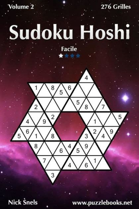 Sudoku Hoshi Facile Volume 2 276 Grilles
