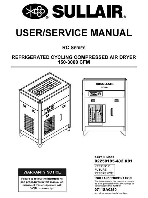 Sullair Os 33 Manual