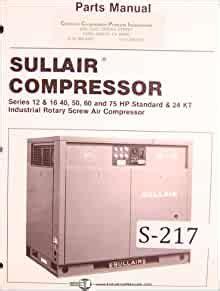 Sullair Screw Compressor Manual