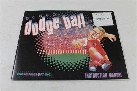 Super Dodgeball Nes Manual