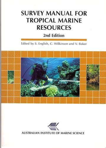 Survey Manual For Tropical Marine Resources