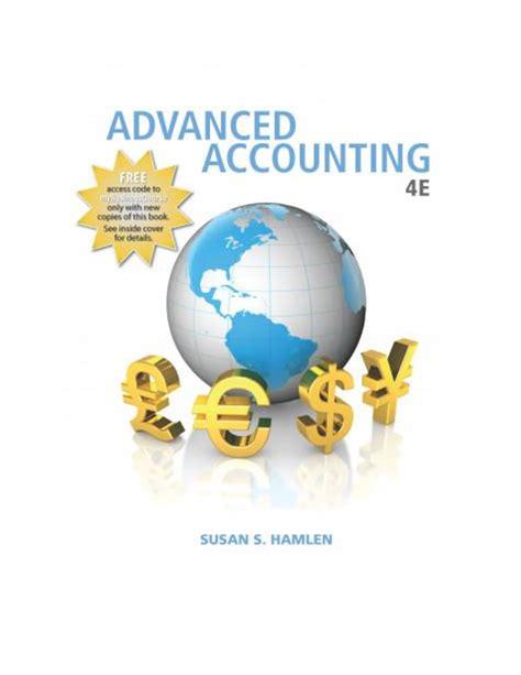 Susan Hamlen Advanced Accounting Solution Manual