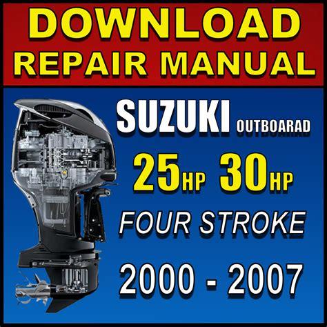 Suzuki 25hp Manual