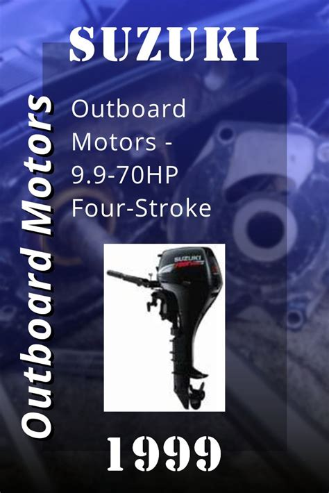 Suzuki 8 9 9 Outboard Owners Manual