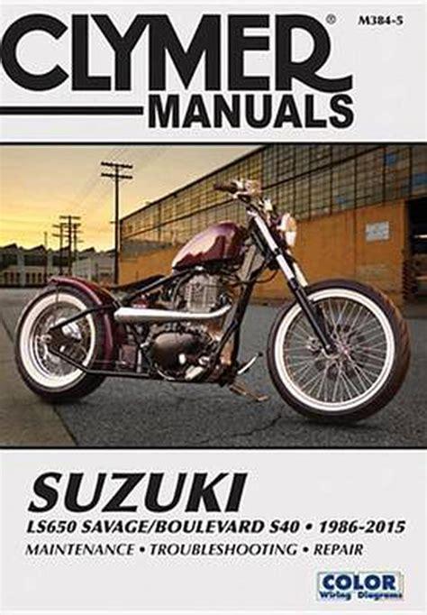Suzuki Boulevard S40 Repair Manual