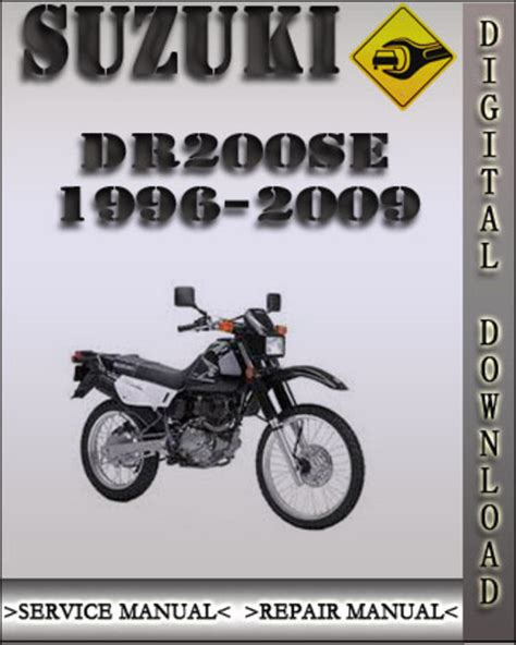 Suzuki Dr200se 2004 Factory Service Repair Manual