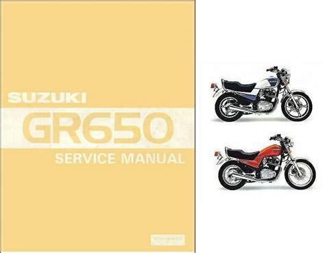 Suzuki Gr 83 Manual