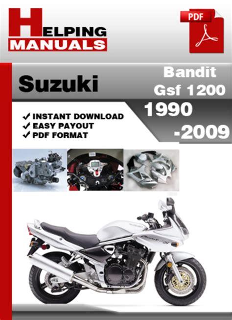 Suzuki Gsf 1200 Bandit Service Manual
