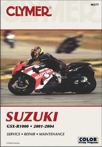 Suzuki Gsxr 1000 Repair Manual 2004