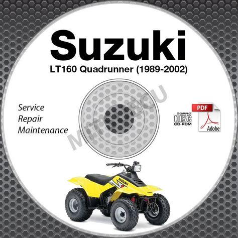 Suzuki Lt F160v 1997 Workshop Service Repair Manual