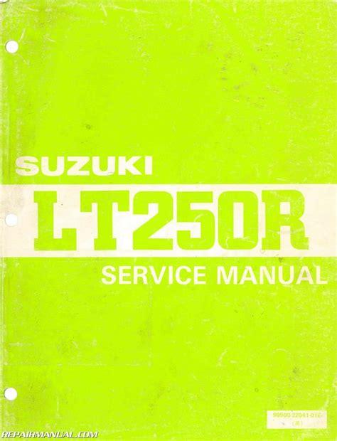 Suzuki Lt250r Manual