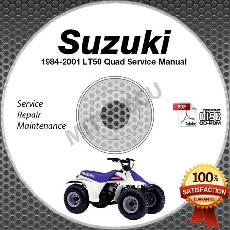 Suzuki Lt50e 1984 Workshop Service Manual For Repair