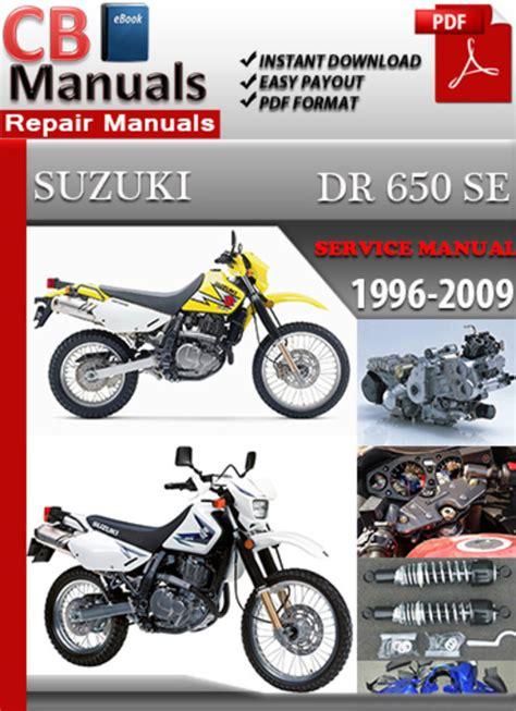 Suzuki Manual Dr650