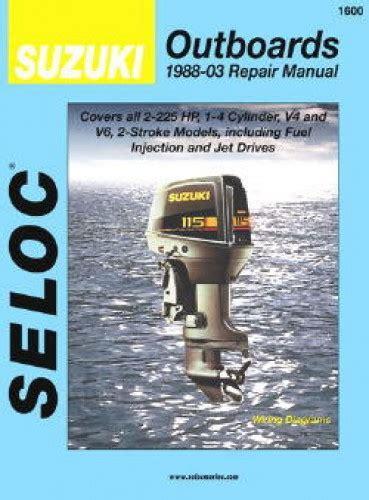 Suzuki Outboards Engines 1988 2003 Service Repair Manual