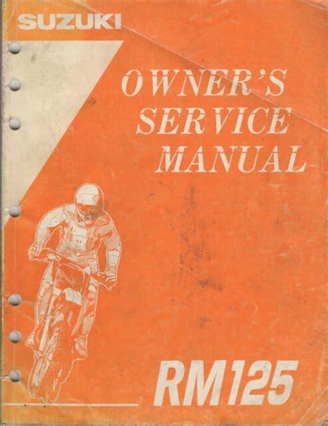 Suzuki Rm125 Manual 92