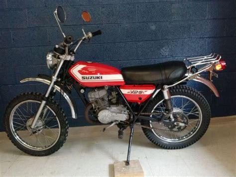 Suzuki Tc125 1972 1976 Manual