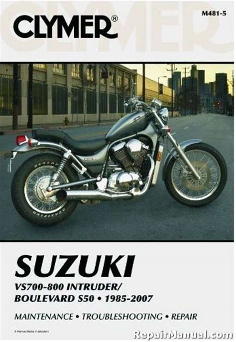Suzuki Vs700 Vs800 1985 1997 Service Repair Workshop Manual