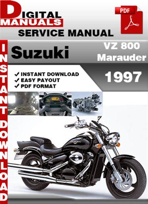 Suzuki Vz800 Vz 800 1997 1998 2015 Workshop Manual