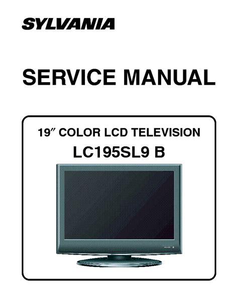 Sylvania Digital Tv Manual