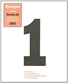 Syntagma: Revista del Instituto de Historia del Libro y de la Lectura