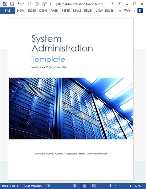 System Administration User Guide