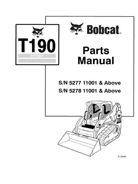 T190 Bobcat Manual