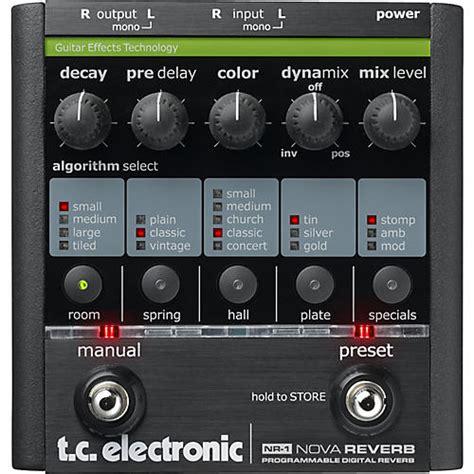 TC Electronic NR-1 Nova Reverb Guitar Effects Pedal