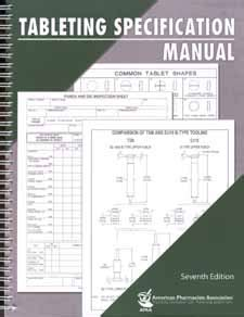Tablet Tooling Specification Manual