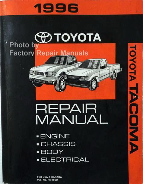 Tacoma Factory Service Manuals