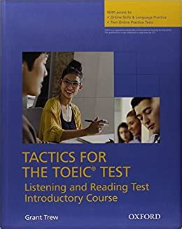 Tactics For Toeic Listening And Reading Test Tapescripts Answer Key