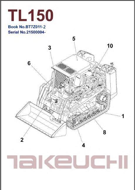 Takeuchi Tl 150 Manual
