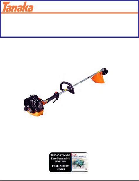 Tanaka Trimmer User Manual