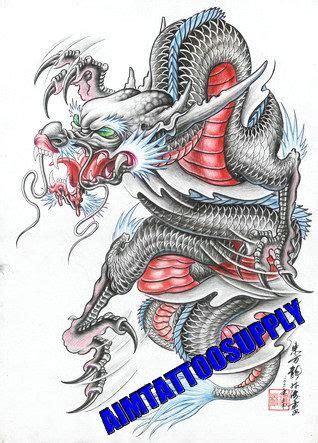 Tattoo Libro De Flash A3 Con Diseno De Dragon